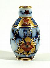 William Moorcroft for James Macintyre & Co miniature vase Decorated in the
