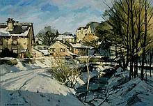 John McCombs NDD ROI RBA FRSA PMAFA (British, b. 1943) - 'Winter Morning Su