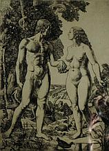 Charles Frederick Tunnicliffe RA (British, 1901-1979) - 'Adam and Eve' Penc