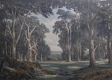 Charles Edward Johnson (British, 1832-1913) ''North Wales Forest Landscape'