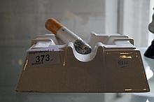 A Rye Pottery novelty ashtray with large cigarette
