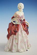 A Royal Doulton figurine 'Fleurette', HN1587 by Leslie Harradine,
