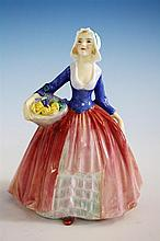 A Royal Doulton figurine 'Janet', HN1916, by Leslie Harradine, 1940s,