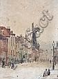 Charles Spencelayh (British, 1865-1958) Windmill Street, Chatham, Kent