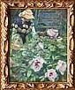 Frank Bramley RA (British, 1857-1915) 'The Tulip Tree'