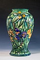 A Moorcroft vase Rain Forest pattern introduced by Sally Tuffin in 1992, stylised foliate,