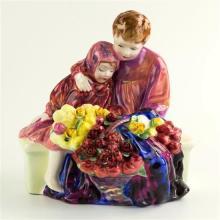 A Royal Doulton figurine 'The Flower Sellers Children', HN1342, by Leslie Harradine,