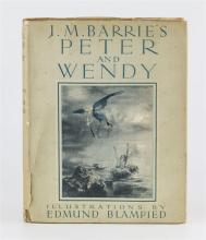 Barrie, J. M., Illus. Blampied, Edmund 'Peter and Wendy',
