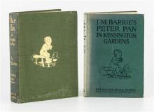 Barrie, J. M.; Rackham, Arthur (illustrator) 'Peter Pan in Kensington Gardens', Hodder and Stoughton,