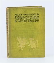 Carroll, Lewis; Rackham Arthur (illustrator) 'Alice's Adventures in Wonderland', pub. Heinemann London,