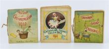 Ainslie, Kathleen (author and illustrator) Three Catherine and Susan calendars, dated 1909, 1910 and 1911,
