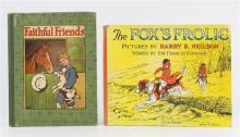 Cecil Aldin; Arthur Rackham & Louis Wain (illustrators) 'Faithful Friends', undated, c.1910, Blackie and Son,