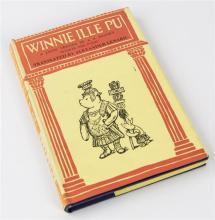 Milne, A. A. 'Winnie ille Pu' a Latin translation of 'Winnie the Pooh' by Alexander Lenard, pub. Methuen, London 1967,