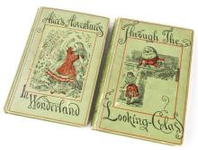Carroll, Lewis 'Alice's Adventures in Wonderland' and 'Through the Looking Glass', pub. Macmillan and Co, 1894,