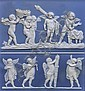 A Wedgwood rectangular jasper plaque of 'The Marriage of Cupid and Psyche'