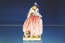 A Royal Doulton porcelain figure Miss Fortune, HN 1897, by Leslie Harradine, 6¾in. (16.8cm.) high, restoration.