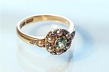 An 18ct gold, diamond,