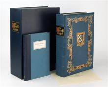 Folio society - The Luttrell Psalter 624 pages, over 600 pages of illuminations blocked with a design by David Eccles using gold,