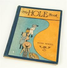 Newell, Peter 'The Hole Book', first edition, Harper and Bros,