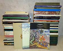 Approx. 75 Sotheby Catalogs