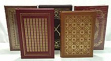 5 Easton Press Leather Bound Books