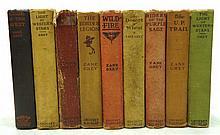 9 Zane Grey Books