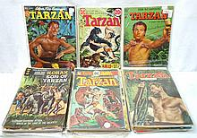 40+ Tarzan Comic Books