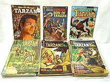 40+ Tarzan Comic Books