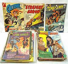 34 Western Comic Books