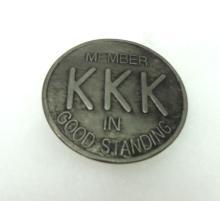 Modern KKK Member Badge