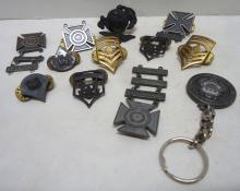 Lot Of 12 Military Badges & Emblems