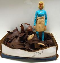 Jane & Johnny West Action Figure & Accessories