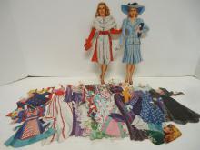Lana Turner Paper Dolls & Accessories