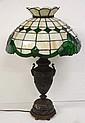 Leaded Glass Lamp