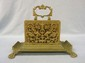 Ornate Bronze Letter Holder
