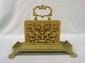 Ornate Bronze Letter Holder