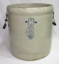 8 Gal. White Hall Dbl. Handle Crock