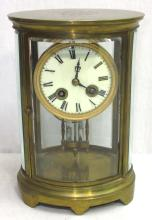 Crystal Regulator Pro Golf Trophy Clock