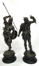 Pr. Spelter Statues