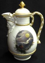 Royal Worcester Chocolate Pot