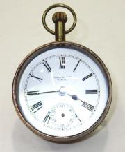 Columbia Bulls Eye Watch Clock