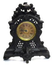 Ornate Cast Iron Clock