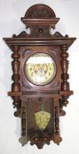 Ornate Wall Regulator Clock