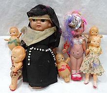 7 Celluloid Dolls