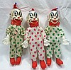 3 Clown Dolls