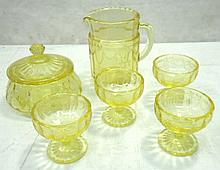 Childs Depression Glass Set