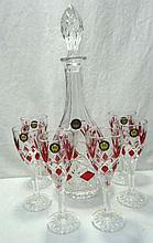 Ruby Flash Wine Set