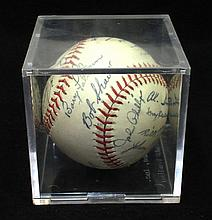 1958 White Sox Team facsimile Ball