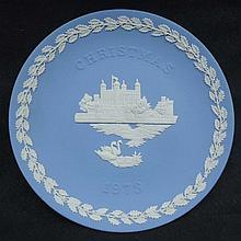 1973 Wedgewood Christmas Plate