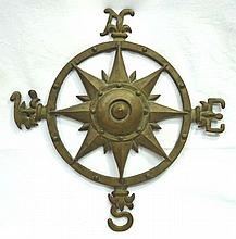 Early Cast Brass Weather Vane